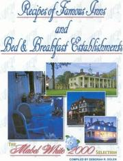 Cover of: Secret Recipes of Famous Inns and B&B's | Deborah R. Dolen