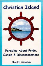 Cover of: Christian Island - Parables About Pride, Gossip and Discontentment | Charles Simpson