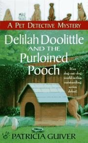 Cover of: Delilah doolittle and the purloined pooch by Patricia Guiver