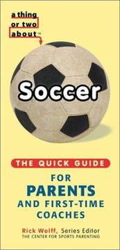 Cover of: A Thing or Two About Soccer | Michael Teitelbaum