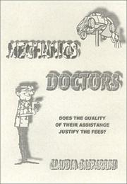 Cover of: Mechanics Doctors by Claudia Gasparrini