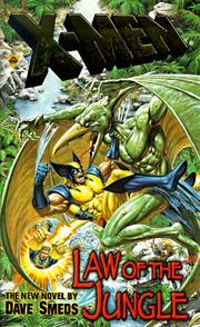 Cover of: Law of the Jungle (X-Men) (X-Men) by Dave Smeds