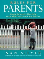 Cover of: Rules for parents | Nan Silver