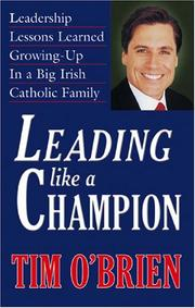 Cover of: Leading Like a Champion | Tim O'Brien