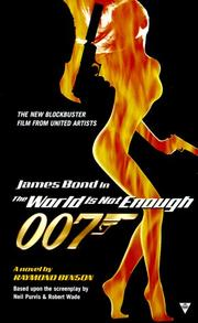 Cover of: The World Is Not Enough (James Bond) by Raymond Benson
