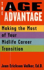 Cover of: The age advantage | Jean Erickson Walker