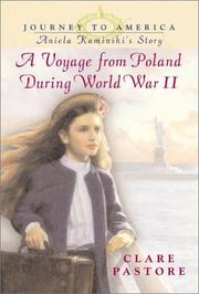 Cover of: A voyage from Poland during World War II | Clare Pastore