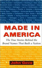 Cover of: Made in America | John Gove