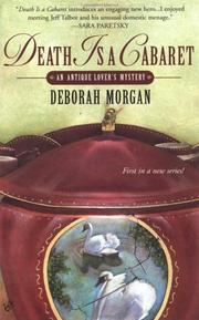 Cover of: Death is a cabaret by Deborah Morgan