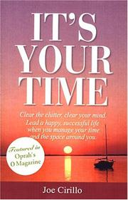 Cover of: It's Your Time by Joe Cirillo