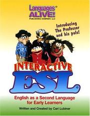 Cover of: Interactive ESL, K-5 (English/Spanish) | Cari Lubiner