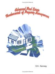 Cover of: Fundamentals of Property Management | S.K. Kenney