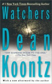Cover of: Watchers by Dean Ray Koontz