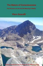 Cover of: The Nature of Consciousness | Piero Scaruffi
