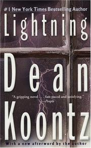 Cover of: Lightning by Dean Ray Koontz