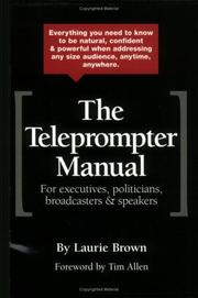 Cover of: The Teleprompter Manual by Laurie Brown