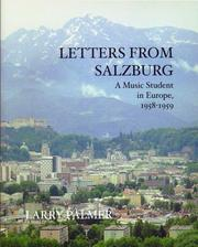 Cover of: Letters From Salzburg | Larry Palmer