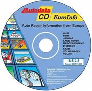 Cover of: Euroinfo Cd - Auto Repair Information From Europe | Delmar Thomson Learning