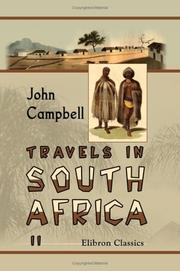 Cover of: Travels in South Africa | John Campbell