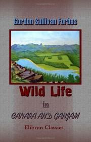 Cover of: Wild Life in Canara and Ganjam | Gordon Sullivan Forbes