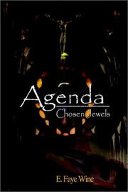 Cover of: Agenda | E. Faye Wine