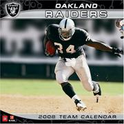 Cover of: Oakland Raiders 2008 Wall Calendar | John F. Turner