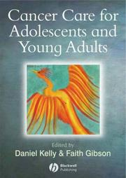 Cover of: Cancer care for adolescents and young adults |