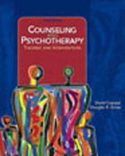 Cover of: Counseling And Psychotherapy | Dave Capuzzi