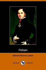 Cover of: Pelham by Edward Bulwer Lytton