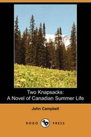 Cover of: Two Knapsacks | John Campbell