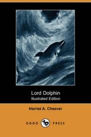 Cover of: Lord Dolphin | Harriet A. Cheever