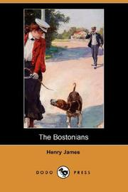 Cover of: The Bostonians by Henry James, Jr.