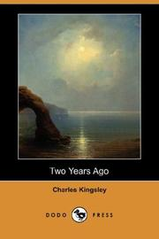Cover of: Two Years Ago by Charles Kingsley