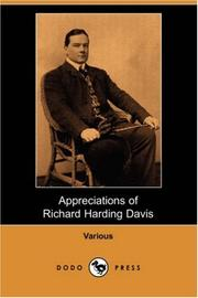 Cover of: Appreciations of Richard Harding Davis | Charles Dana Gibson