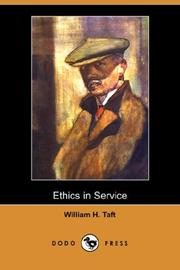 Cover of: Ethics In Service | Taft, William H. (William Howard), 1857-1930
