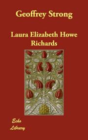 Cover of: Geoffrey Strong | Laura Elizabeth Howe Richards