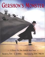 Cover of: Gershon's monster | Eric A. Kimmel