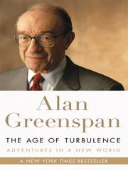 Cover of: The Age of Turbulence | Alan Greenspan