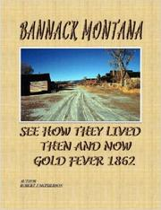 Cover of: Bannack Montana by Robert McPherson