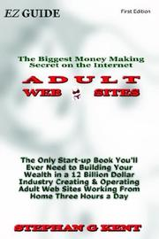 Cover of: Adult Web Sites | Stephan Kent