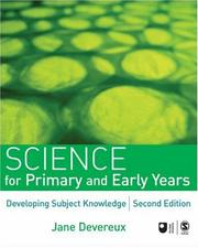 Cover of: Science for Primary and Early Years | Jane Devereux