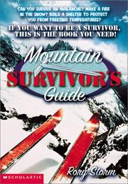 Cover of: Mountain survivor's guide | Rory Storm