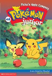 Cover of: Pichu's Apple Company(Pokemon Junior Chapter Book) | Sarah Heller
