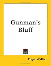 Cover of: Gunman's Bluff | Edgar Wallace