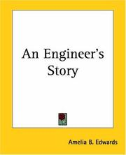 Cover of: An Engineer's Story | Amelia B. Edwards