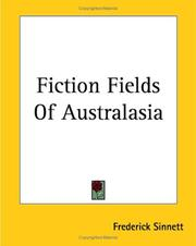 Cover of: Fiction Fields Of Australasia | Frederick Sinnett