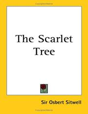 Cover of: The scarlet tree | Osbert Sitwell