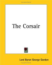 Cover of: The Corsair | Lord George Gordon Byron