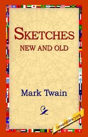 Cover of: Sketches new and old by Mark Twain