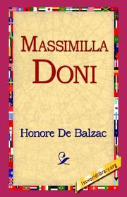 Cover of: Massimilla Doni | Honoré de Balzac